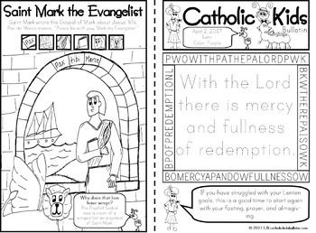 April 2017 Catholic Kids Bulletin