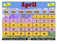 April 2021 Interactive Calendar/Lesson Planner-For any Class (Google Slides)