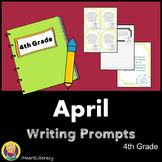 Writing Prompts April 4th Grade Common Core