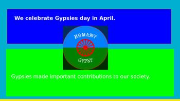 April 8th Gypsies day  Phonics OU/OW