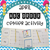 April ABC Order Center