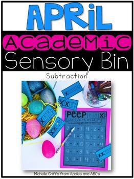 April Academic Sensory Bin