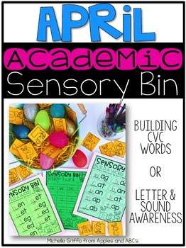 April Sensory Bin