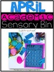 April Academic Sensory Bin