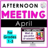 April Afternoon Meeting
