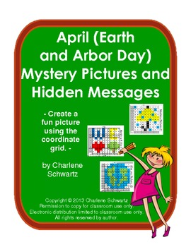April (Arbor and Earth Day) Mystery Pictures and Hidden Messages