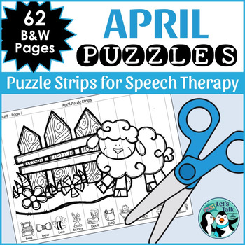 April Articulation Puzzles