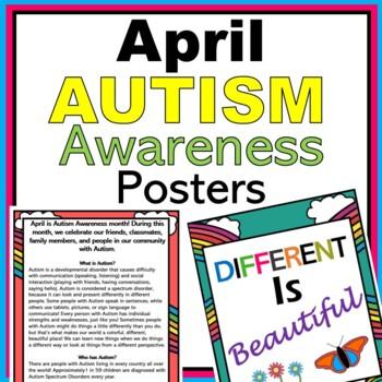 April Autism Awareness Month Bulletin Board