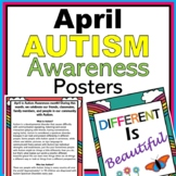 April Autism Awareness Month Bulletin Board