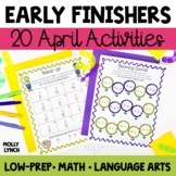 Early Finishers - April