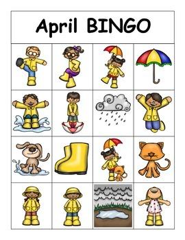 April BINGO