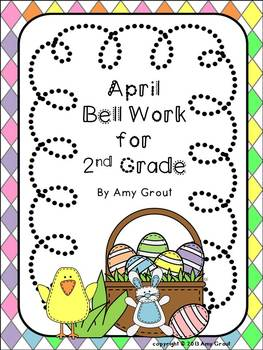 April Bell Work for 2nd Grade
