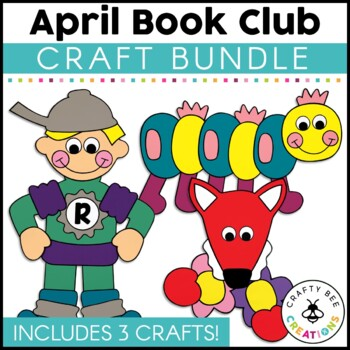April Book Club {Crunch Munch Caterpillar, Fletcher the Fox, & Michael Recycle}