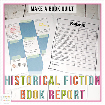 Book Report: Historical Fiction Book Quilt