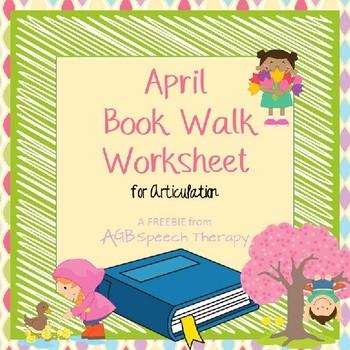 April Book Walk Worksheet