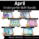 April Boom Cards™ Bundle for Kindergarten