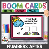April Boom Cards Numbers After