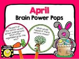 April Brain Power Pops