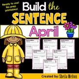 April Build the Sentence