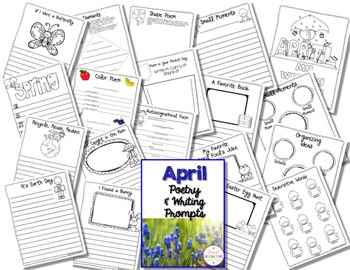 APRIL BUNDLE WITH EARTH DAY AND SPRING ACTIVITIES
