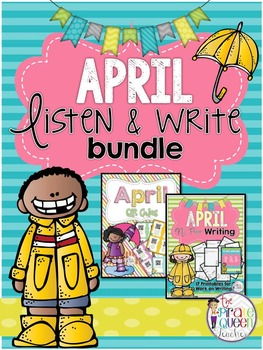 April Bundle: Daily QR Code Listen to Reading and Work on Writing
