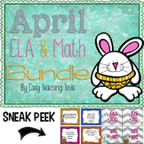 April Bundle: ELA, Math, and Writing