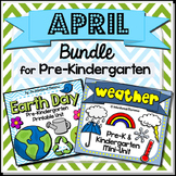 April Bundle for Pre-Kindergarten