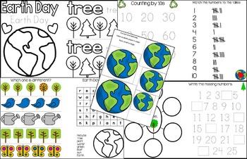 April Bundle for Pre-Kindergarten