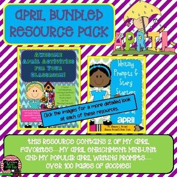 April Bundled Resource Pack