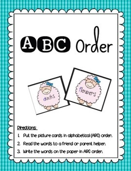 1st and 2nd April Literacy Centers