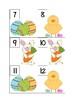 April Calendar Card AABC Pattern