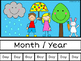 April Calendar Concepts: Following Directions & Answering Wh-Questions