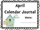 April Calendar Journal (Integrates math and literacy!)