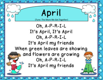 April Calendar Math - in PowerPoint - use with or without interactive board