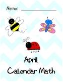 April Calendar Math