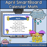April Calendar Math/Morning Meeting for SMARTBoard
