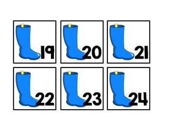 April Calendar Pieces