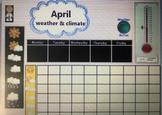 April Calendar Science