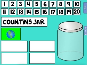 2018 April Calendar and Math Pack for Smartboard