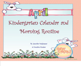 April Calendar and Morning Routine