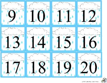 April Calendar set