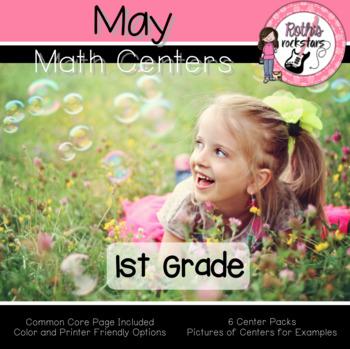 May Centers - 1st Grade - Math