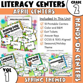 April Centers--2nd Grade ELA