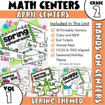 April Centers--2nd Grade MATH