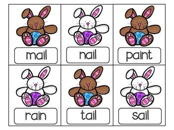 April Centers - Bunny Edition