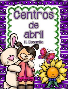 April Centers in Spanish
