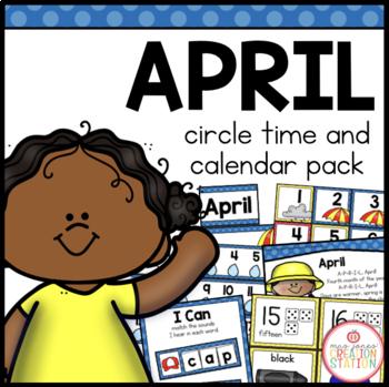 APRIL MORNING MEETING CALENDAR AND CIRCLE TIME RESOURCES