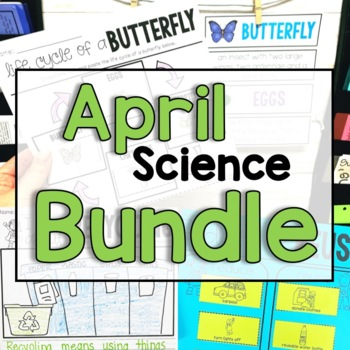 "April ""Click-and-Print"" Science Bundle"