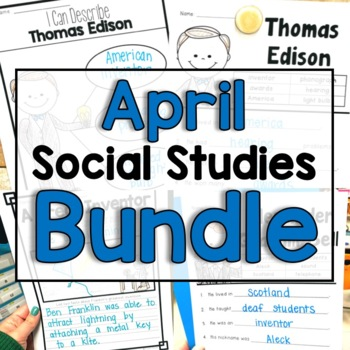 "April ""Click-and-Print"" Social Studies"