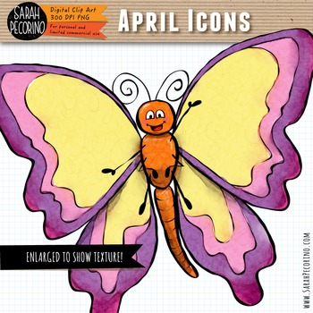 April Spring Clip Art {First Edition}